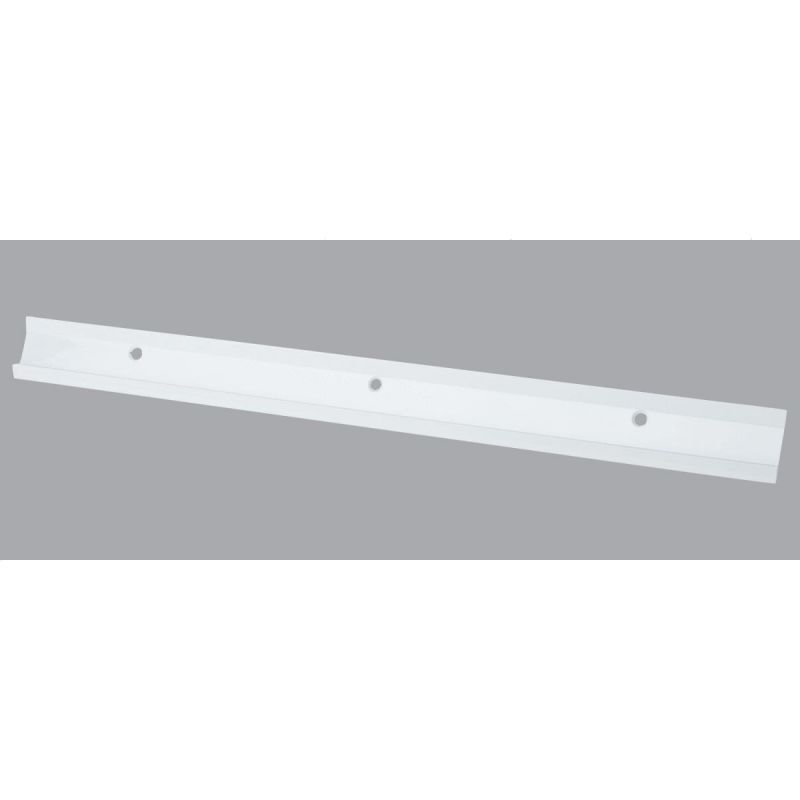 FreedomRail Horizontal Hanging Rail with Cover White