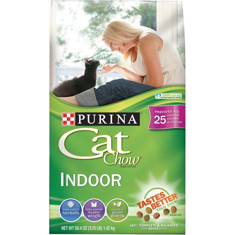 Purina Cat Chow Indoor Formula Dry Cat Food 3.15 Lb.