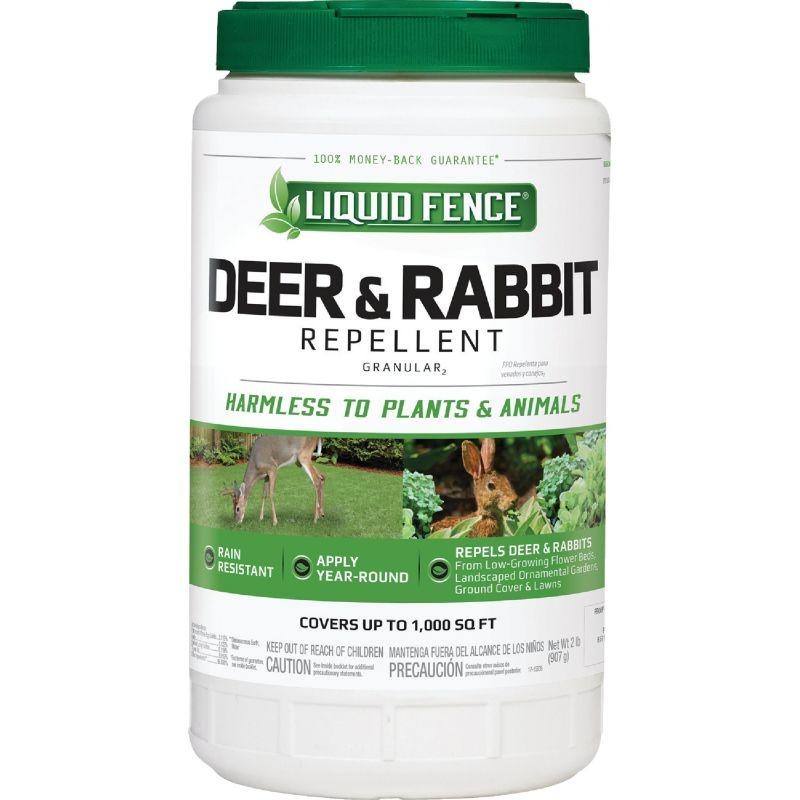 Liquid Fence Deer & Rabbit Repellent 2 Lb., Shaker