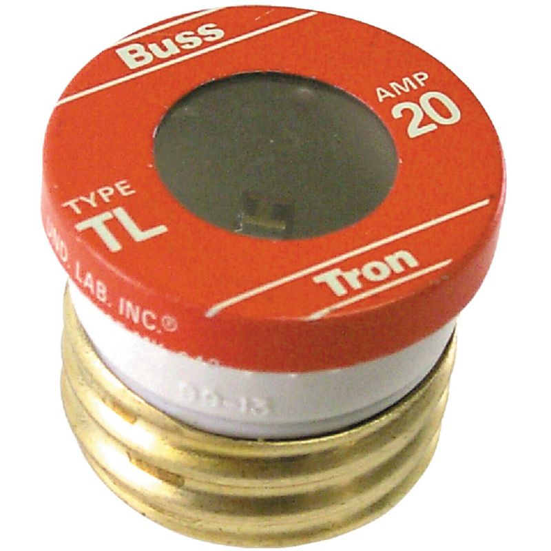Bussmann TL Plug Fuse 10kA, 20A