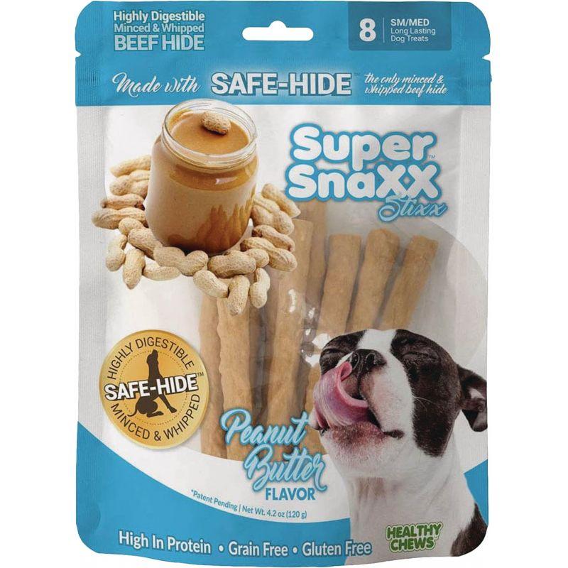 Healthy Chews Super SnaXX Stixx Dog Treat 8-Pack