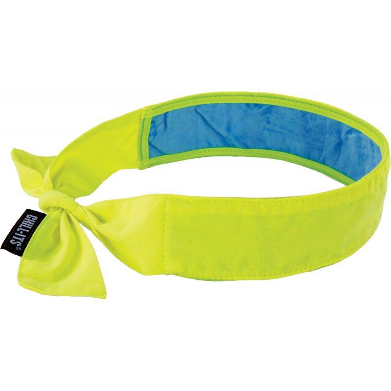 Ergodyne Chill-Its Evaporative Cooling Bandana High-vis Lime, Headband