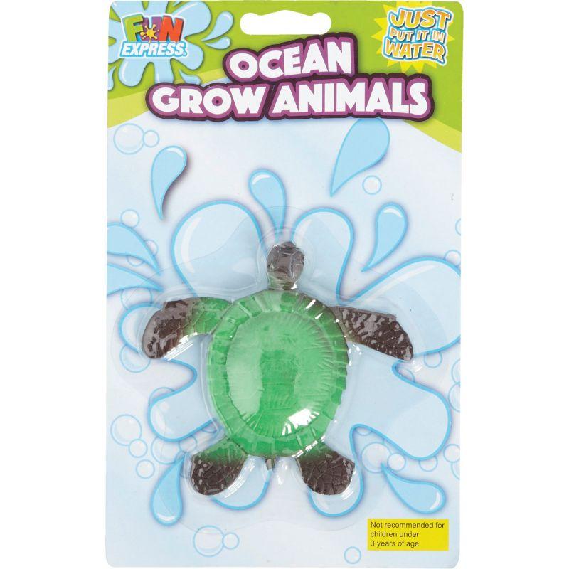Fun Express Large Ocean Grow Animals Assorted (Pack of 12)
