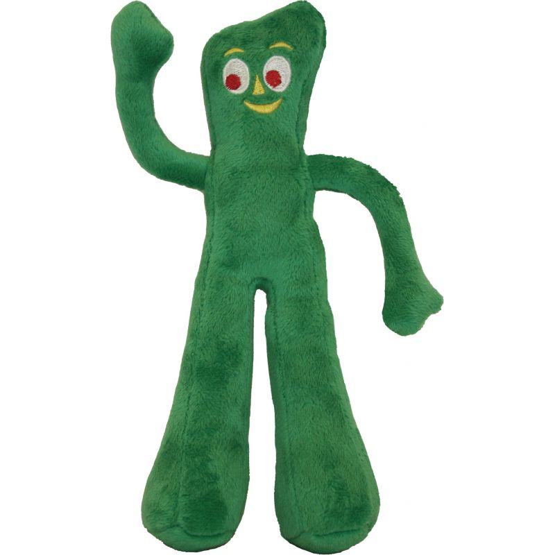 Multipet Gumby Dog Toy 9 In., Green