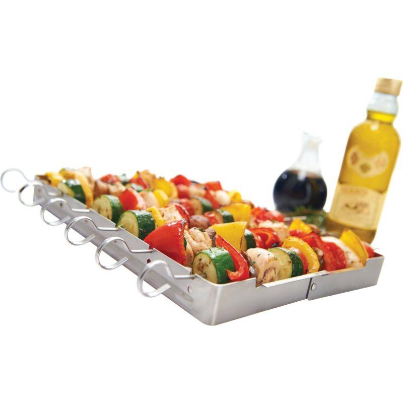 GrillPro Kebab Grill Rack With Skewer