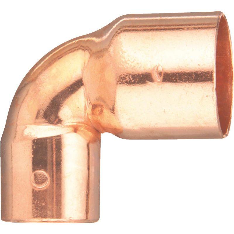 "Elkhart Reducing 90 Degree Copper Elbow 1/2"" X 3/8"""