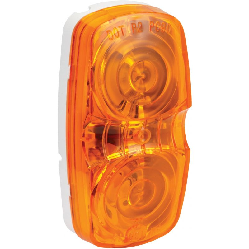 Peterson Double Bulls-Eye Clearance Light Amber, Low-Profile, .66A
