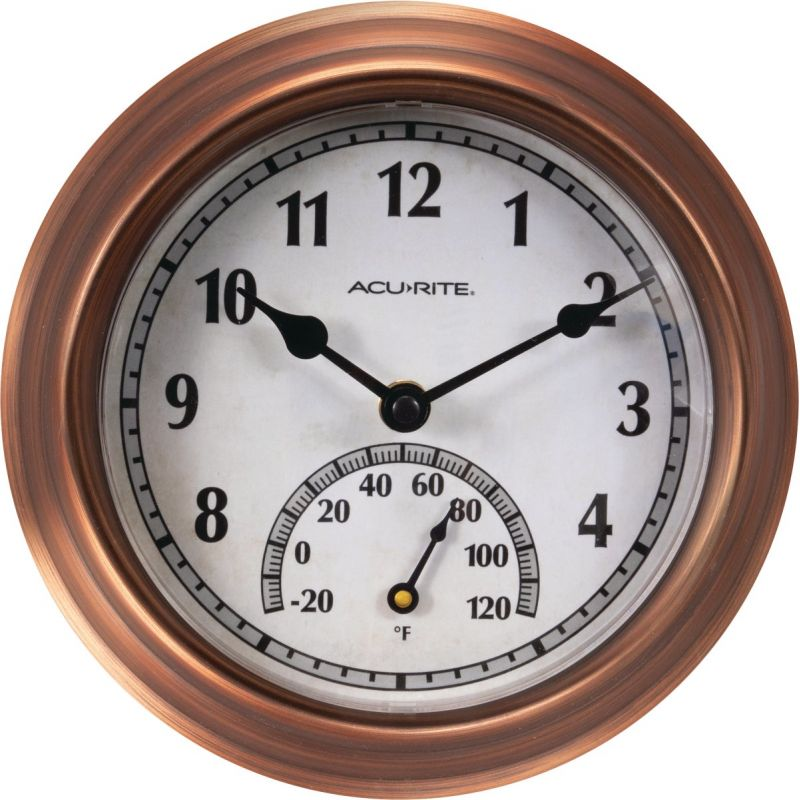 Acurite Wall Clock/Thermometer