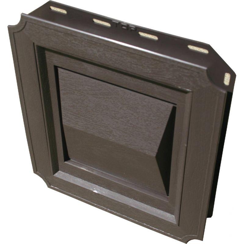 Builder's Best J-Block Dryer Vent Hood 4 In., Brown