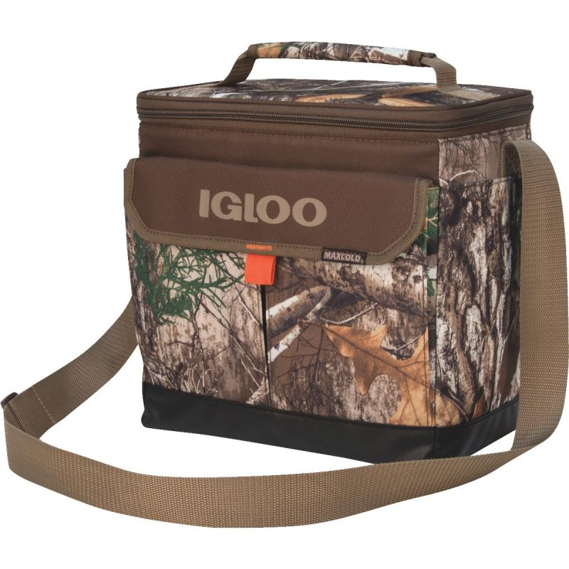 Igloo RealTree MaxCold Soft-Side Cooler 12-Can, Camouflage
