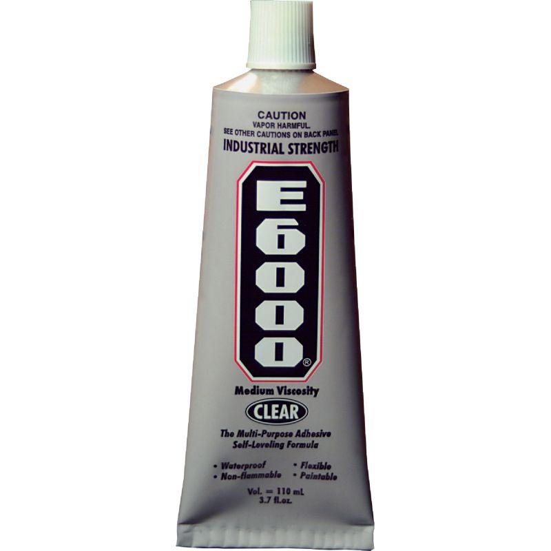 E6000 Industrial Multi-Purpose Adhesive 3.7 Oz., Clear