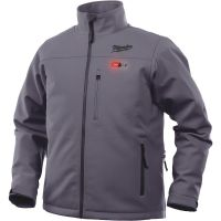 Milwaukee M12 Cordless Gray Heated Jacket