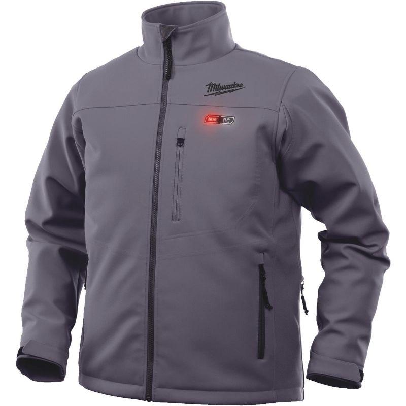 Milwaukee M12 Cordless Heated Jacket Kit Large, Gray