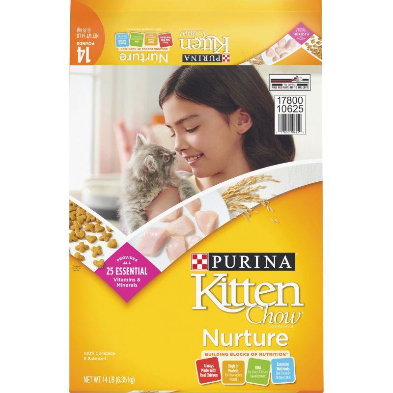 Purina Kitten Chow Dry Kitten Food 14 Lb.