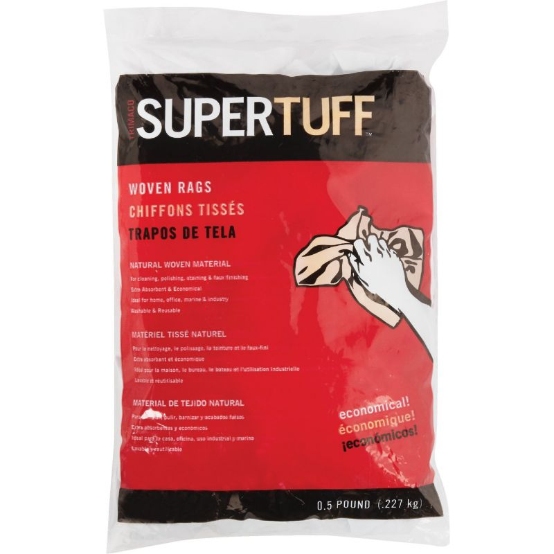 Trimaco SuperTuff Painter's Rags And Wipers 8 Oz., Blue
