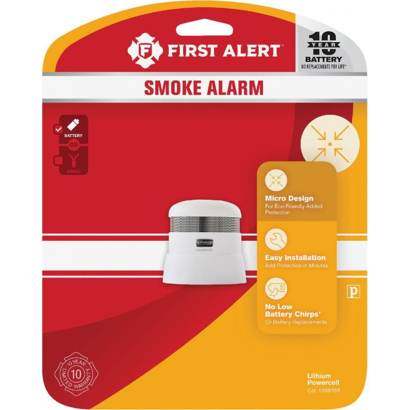 First Alert Atom 10 Year Battery, The Atom Smoke Alarm