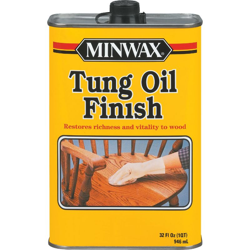 Minwax Tung Oil Finish Natural, 1 Qt.