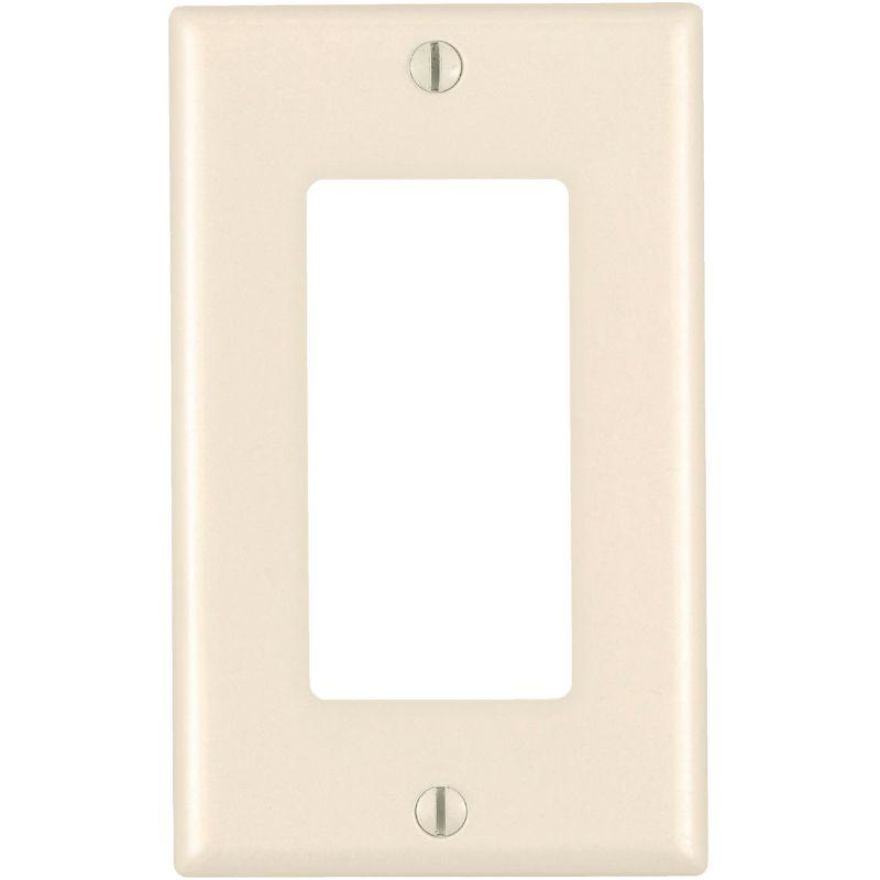 Leviton Mid-Way Decorator Wall Plate Light Almond
