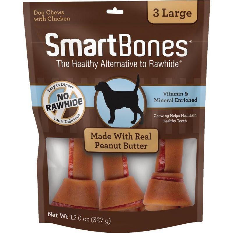 SmartBone Large Chew Bone 3-Pack