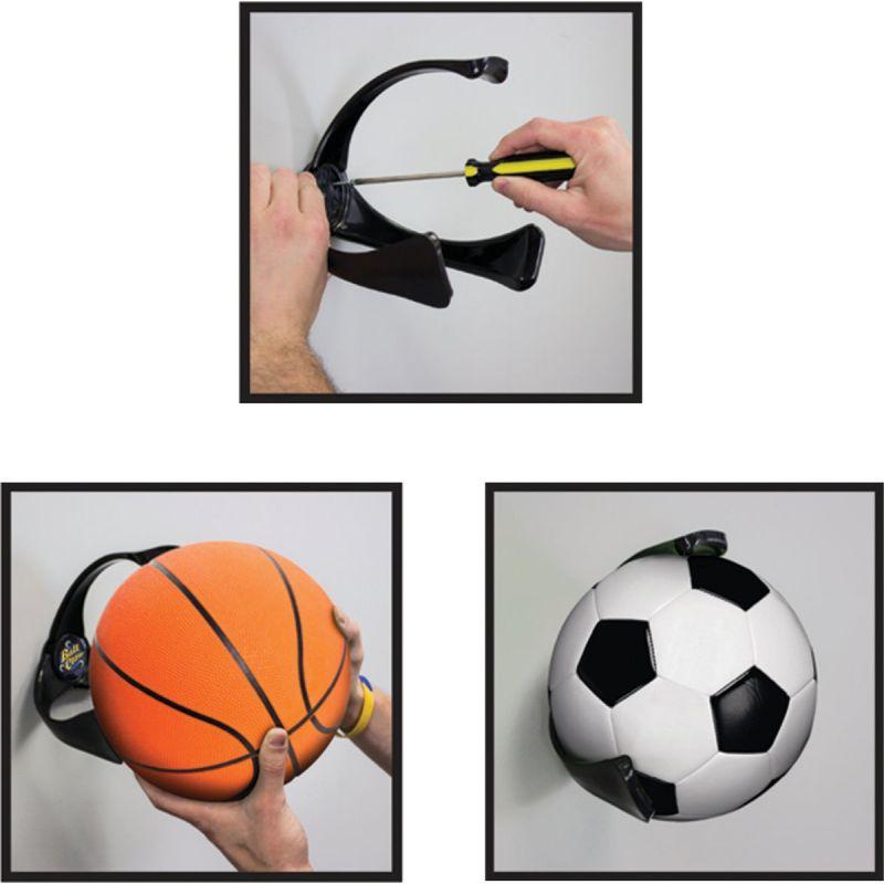 Ball Claw Storage Rack Black