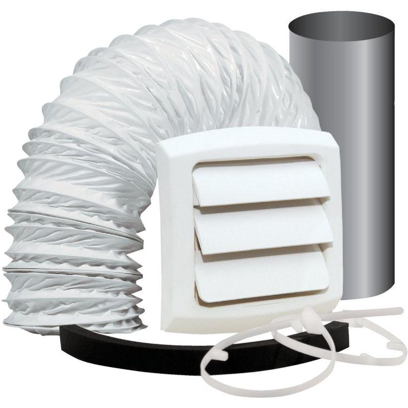 Dundas Jafine Bathroom & Utility Wall Bath Fan Vent Kit