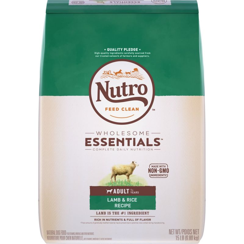 Nutro Wholesome Essentials Adult Dry Dog Food 12 Lb.