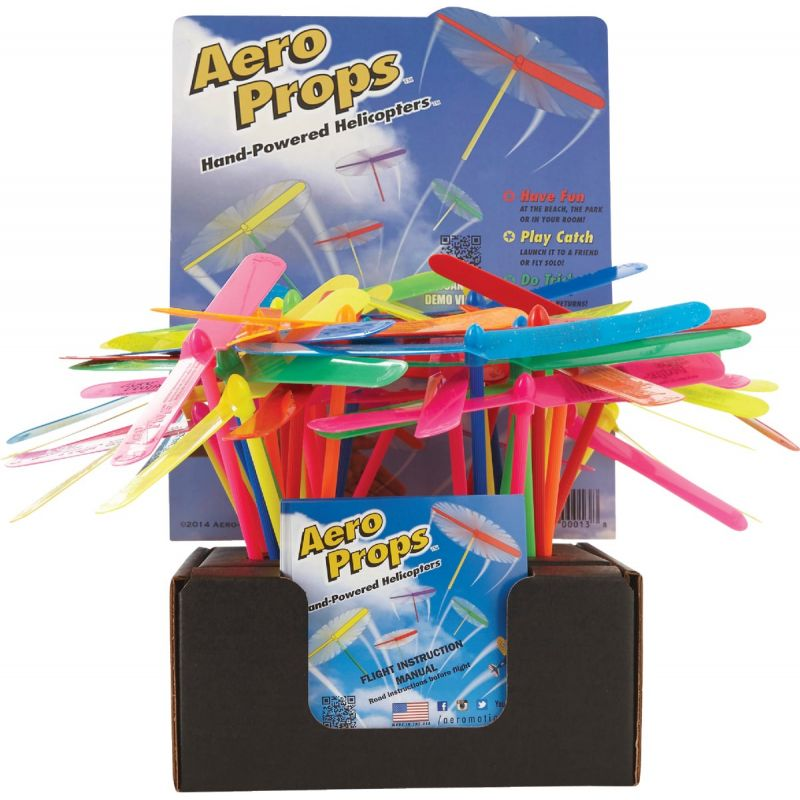 Aero Motion Aero Props Flying Propeller 8 In., Assorted (Pack of 100)