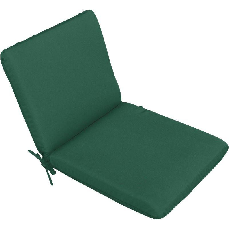Casual Cushion High Back Chair Cushion Green