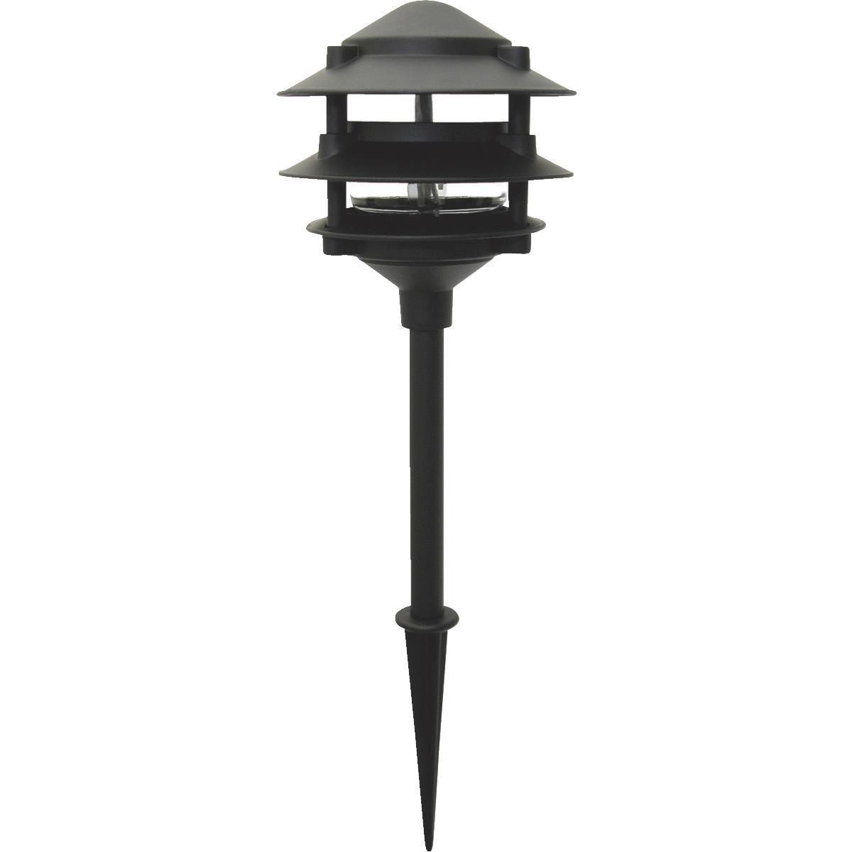 Landscape Lighting Supply: Buy Moonrays 3-Tier Landscape Stake Light Black