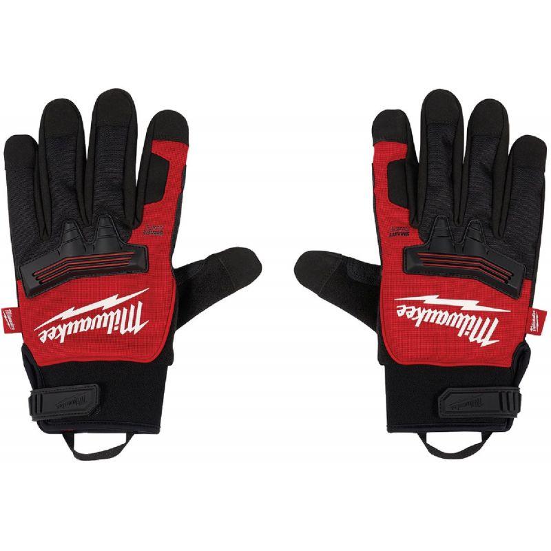 Milwaukee Demolition Winter Gloves M, Black/Red
