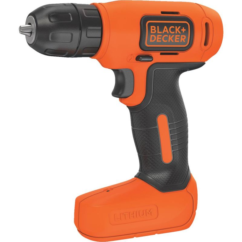 Black & Decker 8V MAX Lithium-Ion Cordless Drill Kit
