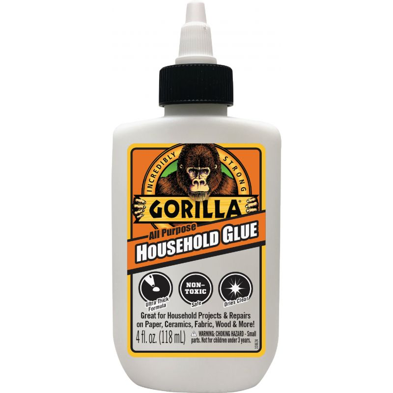 Gorilla Household All-Purpose Glue 4 Oz., White