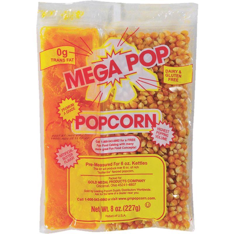 Gold Medal Mega Pop Popcorn Kit 36 Kits 36pk