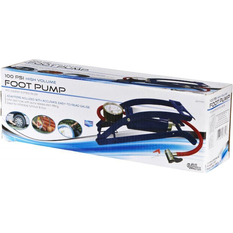 Custom Accessories Deluxe Foot Pump