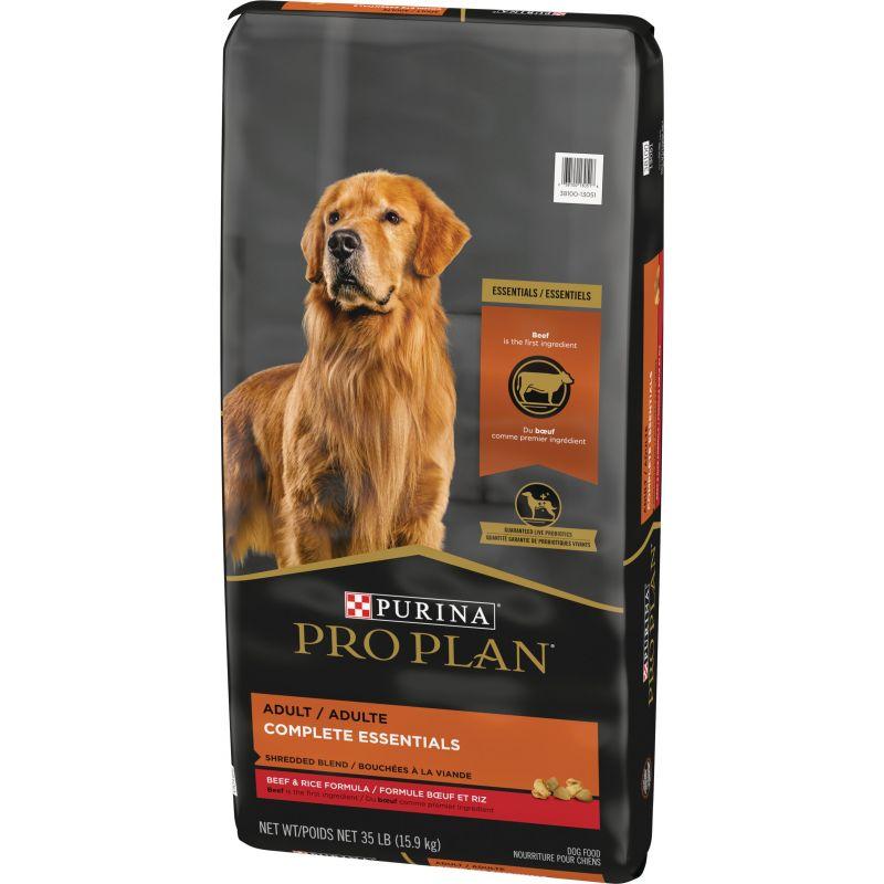 Purina Pro Plan Shredded Blend Dry Dog Food 35 Lb.