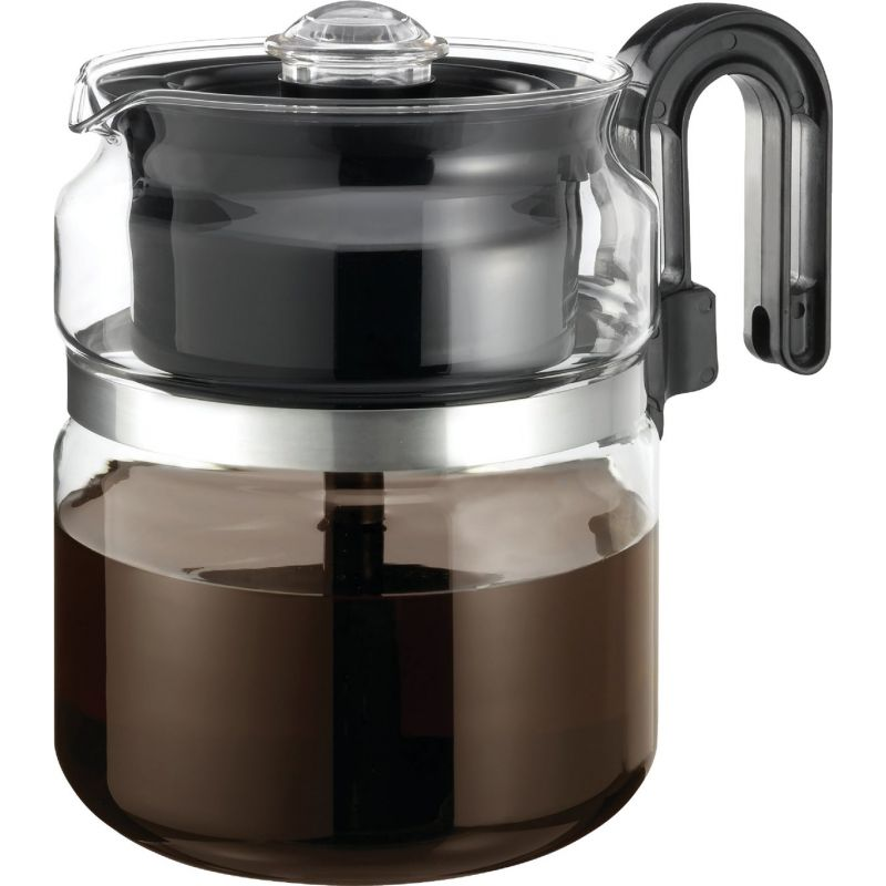 Medelco Cafe Brew Stovetop Coffee Percolator 8 Cup