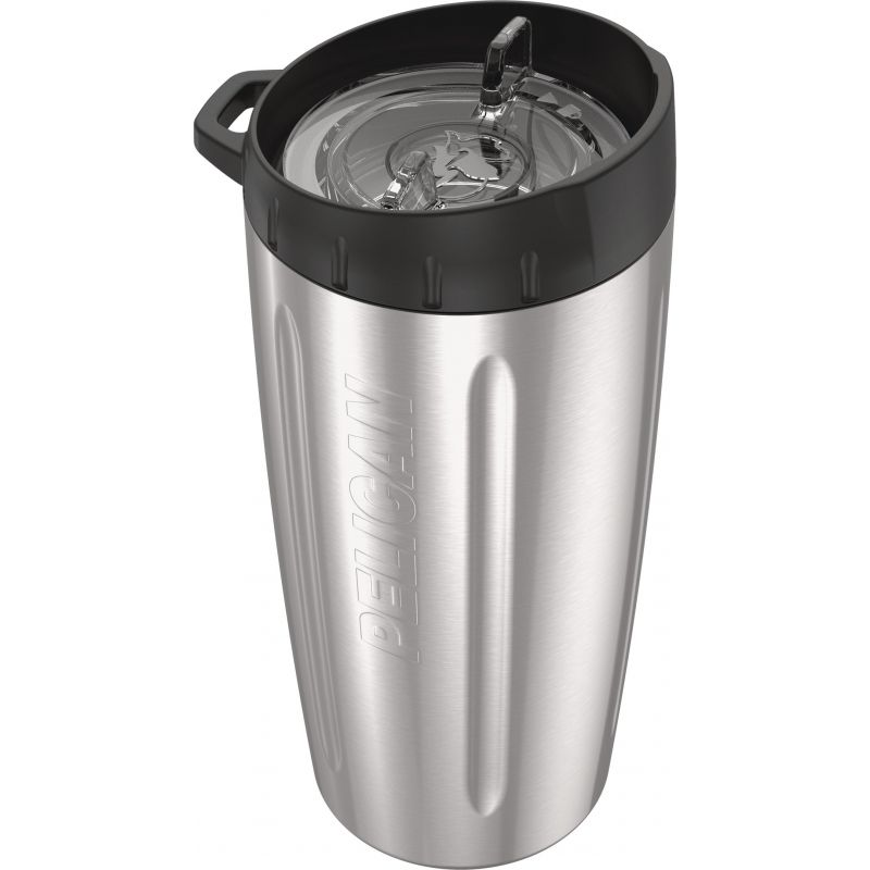 Pelican Stainless Steel Insulated Tumbler 16 Oz., Silver