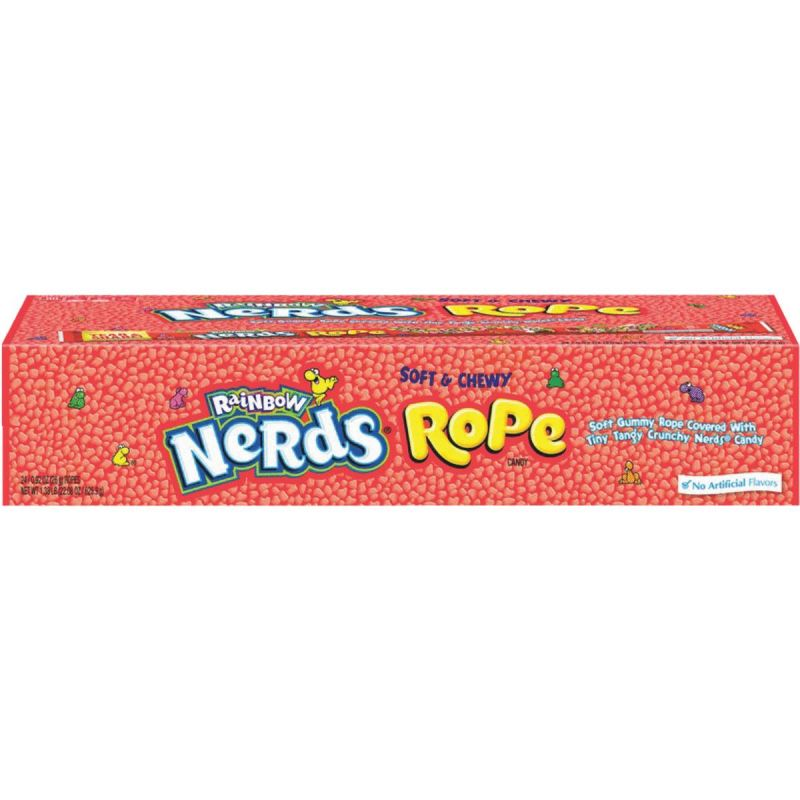 Nerds Rainbow Rope Candy 0.92 Oz. (Pack of 24)