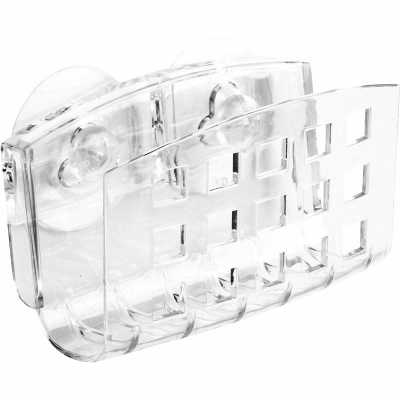 InterDesign SinkWorks Clear Soap Dish Holder