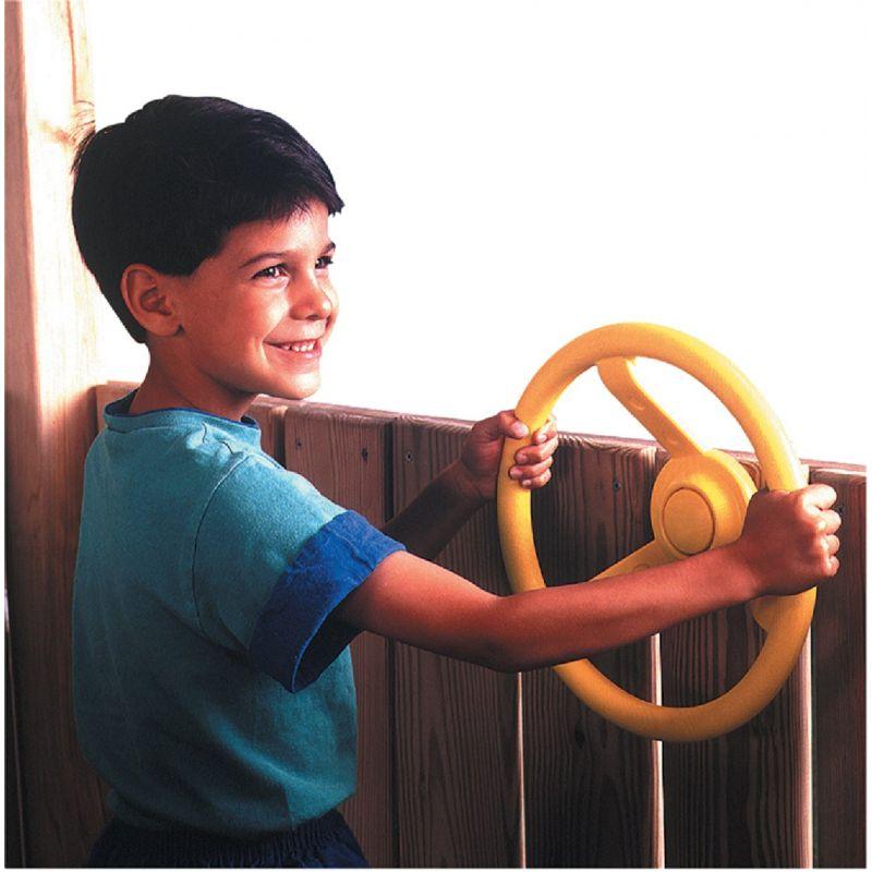 Swing N Slide Playground Steering Wheel Yellow