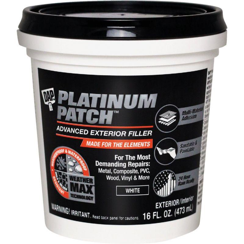 Dap Platinum Patch Spackling 16 Oz., White