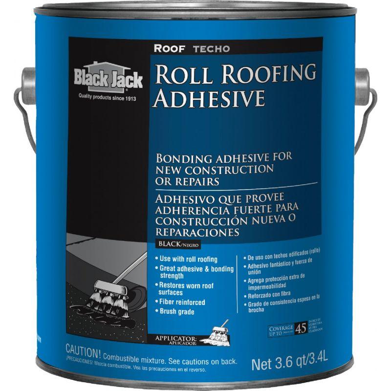 Black Jack Roll Roofing Adhesive Black, 1 Gal.