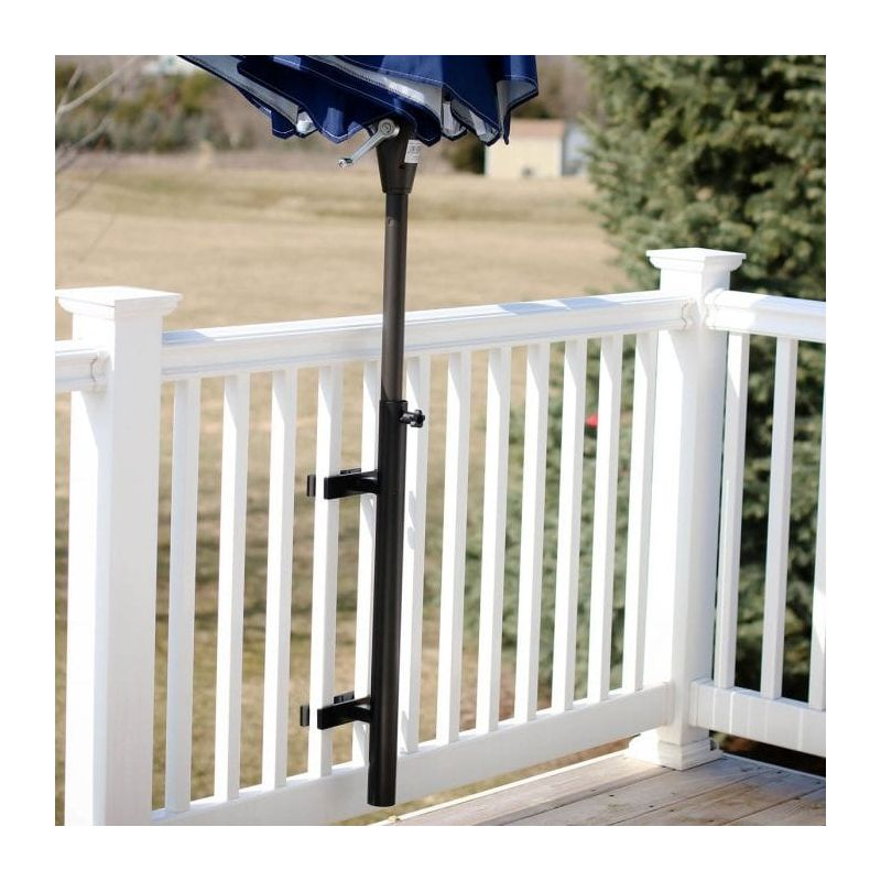Love Your Deck Umbrella Holder Black