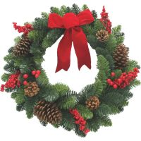 Sterling Pine Berry Artificial Wreath