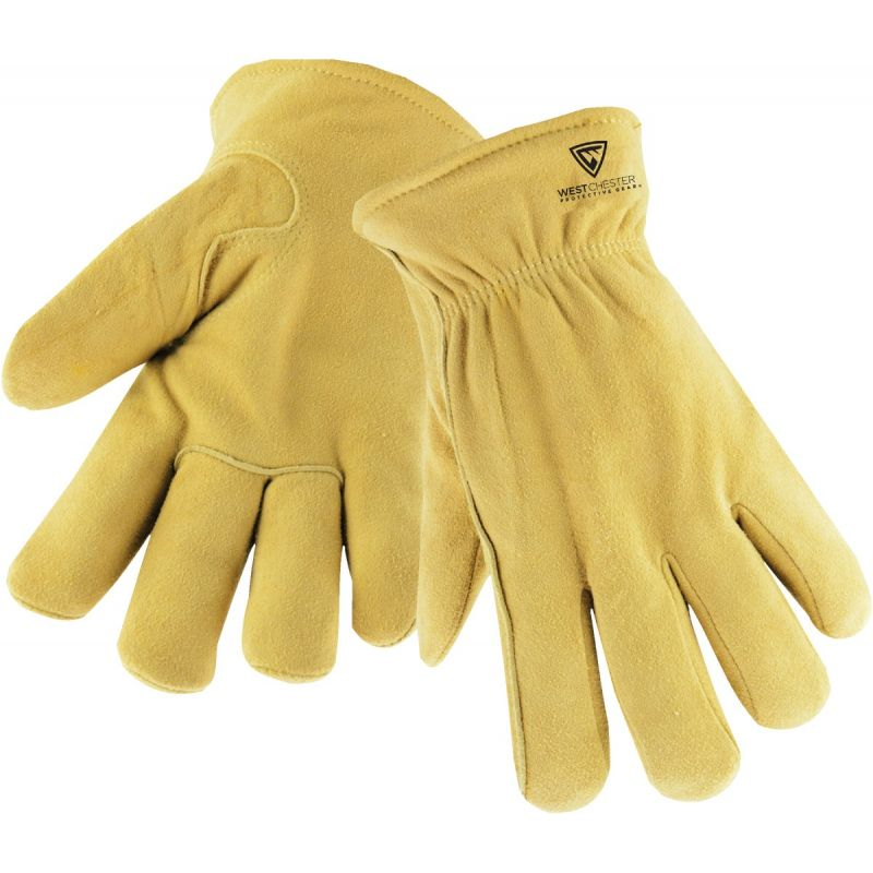 West Chester Deerskin Winter Work Glove M, Tan