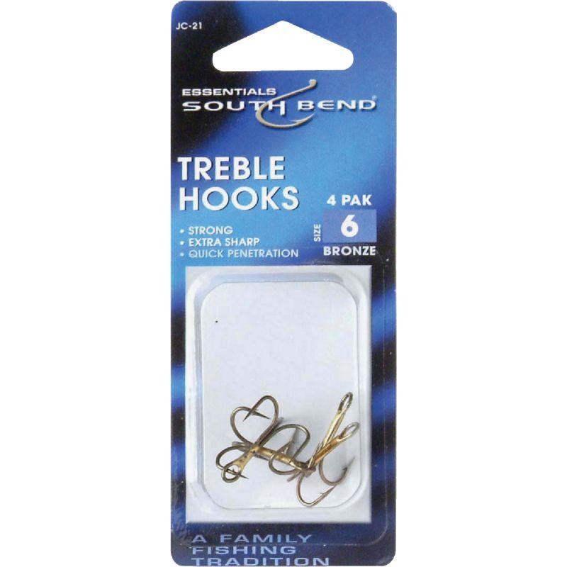 SouthBend Bronze Treble Hook Size 6