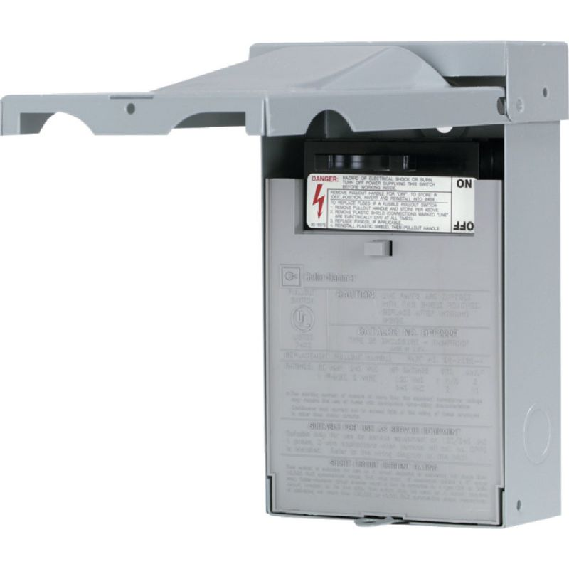Eaton Fused Air Conditioner Disconnect 30A