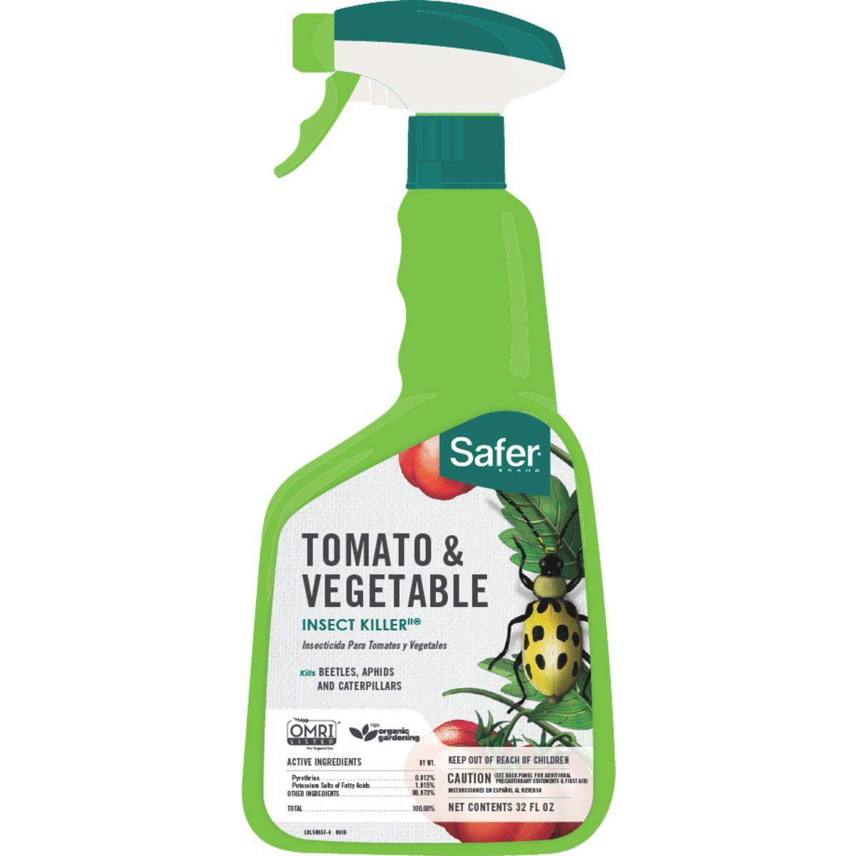 Buy Safer Tomato Vegetable Insect Killer