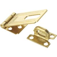 Nonswivel Safety Hasp