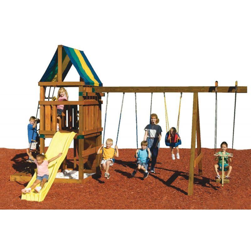 Swing N Slide Alpine Custom Ready-To-Build Swing Set Kit